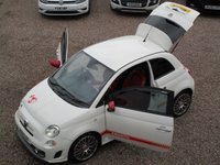 USED 2011 11 ABARTH 500 1.4 ABARTH 3d 135 BHP RED LEATHER, CLEAN CAR INSIDE AND OUT, JUST SERVICED, MOT TILL FEB 2020, HPI CLEAR