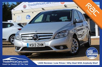 2013 MERCEDES-BENZ B CLASS 1.8 B180 CDI BLUEEFFICIENCY SE 5d AUTO 109 BHP