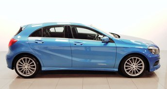 2014 MERCEDES-BENZ A-CLASS 2.1 A220 CDI BLUEEFFICIENCY AMG SPORT 5d AUTO 170 BHP £13950.00