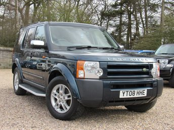 2008 LAND ROVER DISCOVERY 2.7 3 TDV6 GS 5d AUTO 188 BHP £9990.00