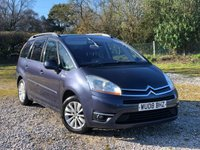 USED 2008 08 CITROEN C4 GRAND PICASSO 1.6 EXCLUSIVE HDI EGS 5d AUTO 110 BHP