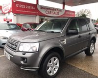 2011 LAND ROVER FREELANDER 2.2 TD4 GS 5d 150 BHP £7995.00