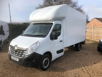 USED 2016 16 RENAULT MASTER 2.3 LL35 BUSINESS DCI L/R C/C 1d 125 BHP LUTON 71000 MILES ONE OWNER FROM NEW