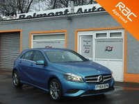 USED 2014 64 MERCEDES-BENZ A CLASS 1.5 A180 CDI BLUEEFFICIENCY SPORT 5d AUTO 109 BHP 1 Owner,2 Service Printouts, Front & Rear parking Sensors, Sat Nav Map Pilot