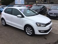 USED 2011 61 VOLKSWAGEN POLO 1.2 MATCH 5d 59 BHP FULL SERVICE HISTORY 7 STAMPS, NEW ENGINE FITTED BY VW @ 43883