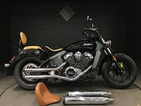 USED 2015 65 INDIAN SCOUT 2015. 1 OWNER. 3752 MILES. 3500 OF EXTRAS. A BEAUTY
