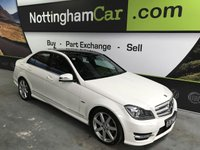 2012 MERCEDES-BENZ C CLASS 2.1 C220 CDI BLUEEFFICIENCY SPORT 4d AUTO 168 BHP £11495.00