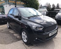USED 2018 18 FORD KA+ 1.2 ZETEC 5d 69 BHP