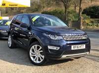 2016 LAND ROVER DISCOVERY SPORT 2.0 TD4 HSE LUXURY 5d AUTO 180 BHP £26995.00