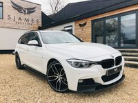 2016 BMW 3 SERIES 3.0 335D XDRIVE M SPORT TOURING 5d AUTO 308 BHP £20990.00