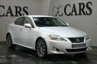 USED 2006 06 LEXUS IS 2.5 250 SE 4d 204 BHP Full Grey Leather Heated Electric Seats, Digital Dual Zone Climate Control, Automatic Headlights, On-board Computer, Heated Electric Powerfold Mirrors, 17 Inch Alloy Wheels, Leather Multi Function Steering Wheel
