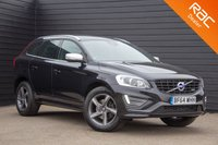 USED 2014 64 VOLVO XC60 2.0 D4 R-DESIGN LUX NAV 5d AUTO 178 BHP £0 DEPOSIT BUY NOW PAY LATER - FULL VOLVO S/H - NAVIGATION