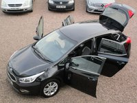 USED 2014 14 KIA CEED 1.6 3 ECODYNAMICS 5d 133 BHP FULL SERVICE HISTORY, SAT NAV, REVERSE CAMERA, BLUETOOTH, SIX SPEED GEARBOX