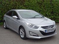 2013 HYUNDAI I40 1.7 CRDI STYLE BLUE DRIVE 4d 134 BHP £5990.00