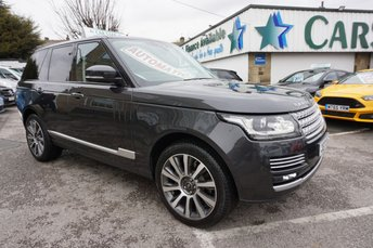 2017 LAND ROVER RANGE ROVER 3.0 TDV6 AUTOBIOGRAPHY AUTOMATIC ( ONLY 8,000 MILES ) £64989.00