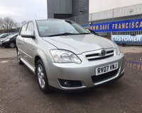 2007 TOYOTA COROLLA T3 COLOUR COLLECTION VVT-I £3350.00