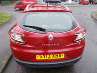 USED 2013 13 RENAULT MEGANE 1.5 DYNAMIQUE TOMTOM ENERGY DCI S/S 5d 110 BHP ++LOW MILEAGE DIESEL WITH SERVICE HISTORY+12 MONTHS FREE AA BREAKDOWN COVER++