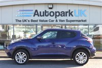 USED 2015 15 NISSAN JUKE 1.5 ACENTA PREMIUM DCI 5d 110 BHP LOW DEPOSIT OR NO DEPOSIT FINANCE AVAILABLE