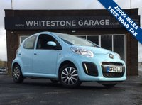 USED 2013 63 CITROEN C1 1.0 VTR 5d 67 BHP 29000 MILES FSH, FREE ROAD TAX, CHEAP INSURANCE EXCELLENT MPG