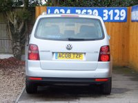 USED 2008 08 VOLKSWAGEN TOURAN 1.9 SE TDI 5d 103 BHP FSH, AIR CON, 7 SEATS, CHILLED GLOVE BOX