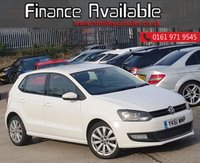 USED 2012 61 VOLKSWAGEN POLO 1.2 SEL TSI 3d 103 BHP FULL SERVICE HISTORY+MOT 01/20+5 VW SERVICE STAMPS 3 INDEPENDENT