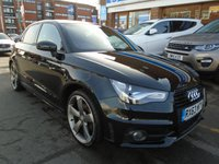 USED 2013 63 AUDI A1 1.4 SPORTBACK TFSI BLACK EDITION 5d AUTO 183 BHP GREAT FINANCE DEALS AVAILABLE