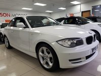 2010 BMW 1 SERIES 2.0 118D SPORT 2d+SERVICE HISTORY+PRIVATE PLATE+WARRANTY+FINANCE+ £SOLD