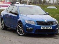 2014 SKODA OCTAVIA 2.0 VRS TSI DSG 5d AUTO 218 BHP £12195.00
