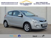 USED 2010 59 HYUNDAI I20 1.2 COMFORT 3d 77 BHP Full Service History Air Con Buy Now, Pay Later Finance!