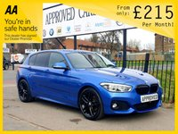 USED 2015 15 BMW 1 SERIES 1.6 118I M SPORT 5d 134 BHP 0% Deposit Plans Available even if you Have Poor/Bad Credit or Low Credit Score, APPLY NOW!