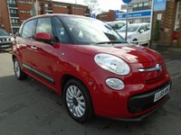 USED 2015 65 FIAT 500L 1.4 POP STAR 5d 95 BHP GREAT FINANCE DEALS AVAILABLE