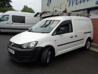 USED 2013 63 VOLKSWAGEN CADDY MAXI 1.6 C20 TDI STARTLINE BLUEMOTION TECHNOLOGY 1d 101 BHP