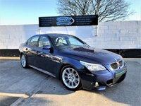 2007 BMW 5 SERIES 2.0 520D M SPORT 4d 161 BHP £SOLD