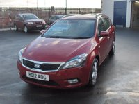 2012 KIA CEED 1.6 2 SW CRDI 5d AUTO 114 BHP £5495.00