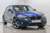 2016 BMW 1 SERIES 1.5 116D SPORT 5d 114 BHP £11990.00