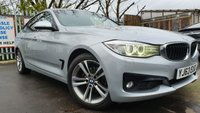 USED 2013 63 BMW 3 SERIES GRAN TURISMO 2.0 320D SPORT 5d 181 BHP 2KEY+LEATHER+PARK+NAV+18ALLOY+