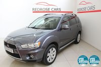 USED 2011 61 MITSUBISHI OUTLANDER 2.3 DI-D GX 4 5d 175 BHP FSH, NAV, BT, S'Roof, Leather