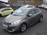 USED 2013 13 PEUGEOT 208 1.4 ALLURE 5d 95 BHP LOW MILES & SERVICE HISTORY