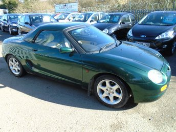 1998 MG MGF 1.8 VVI 2d 118 BHP £1295.00