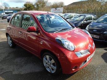 2010 NISSAN MICRA 1.2 N-TEC 5d AUTO 80 BHP £3995.00