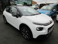 USED 2017 66 CITROEN C3 1.2 PURETECH FEEL 5d 81 BHP CALL 01543 379066... MANUFACTURERS WARRANTY... VERY LOW MILEAGE... CHEAP ROAD TAX