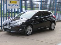 USED 2012 61 FORD FOCUS 1.6 ZETEC 5d 124 BHP Finance arranged Part exchange available Open 7 days