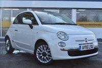 2015 FIAT 500 0.9 TWINAIR LOUNGE 3d 85 BHP £6999.00