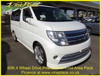 2005 NISSAN ELGRAND Rider 3.5 4WD,8 Seats,2 Power Doors,Full Leather, £8500.00