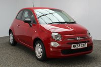 USED 2015 65 FIAT 500 1.2 POP 3DR 69 BHP 1 OWNER £20 ROAD TAX SERVICE HISTORY + £20 12 MONTHS ROAD TAX + AIR CONDITIONING + MULTI FUNCTION WHEEL + RADIO/CD + ELECTRIC WINDOWS + ELECTRIC MIRRORS