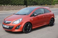 USED 2013 13 VAUXHALL CORSA 1.2 LIMITED EDITION 3d 83 BHP Finance Options Available - Good Credit / Bad Credit