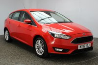 USED 2016 16 FORD FOCUS 1.6 ZETEC 5DR AUTO 124 BHP 1 OWNER FULL SERVICE HISTORY FULL SERVICE HISTORY + PARKING SENSOR + BLUETOOTH + AIR CONDITIONING + RADIO/CD/AUX/USB + ELECTRIC WINDOWS + DAB RADIO + ELECTRIC WINDOWS + 16 INCH ALLOY WHEELS