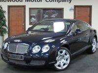 2005 BENTLEY CONTINENTAL 6.0 GT 2d AUTO 550 BHP £25975.00