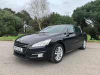 USED 2013 13 PEUGEOT 508 1.6 ACTIVE E-HDI FAP 4d AUTO 112 BHP LUXURY AUTOMATIC CAR WITH SUPERB FUEL ECONOMY AND £20 TAX 25000 MILES