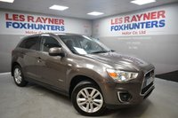 USED 2013 63 MITSUBISHI ASX 1.8 DI-D 3 5d 147 BHP Heated front seats, Bluetooth, Privacy glass, Cruise control, 2 keys